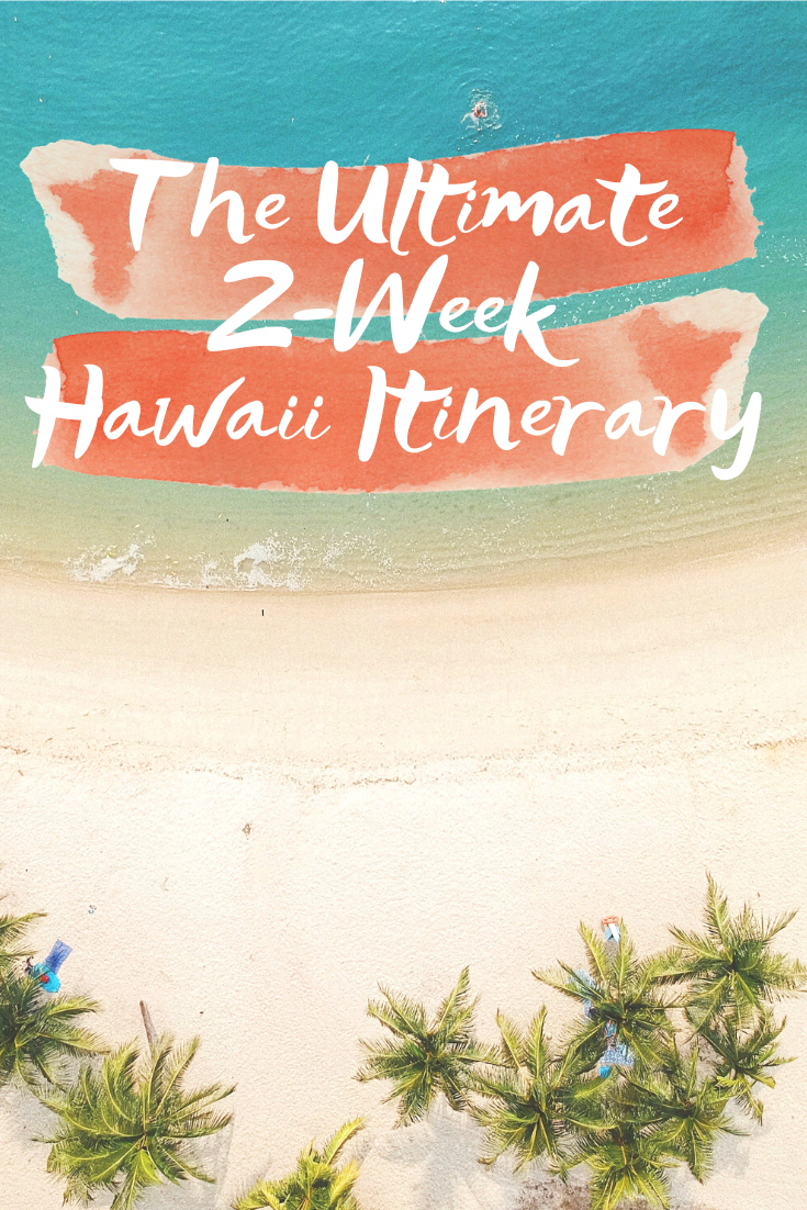 The Best Hawaii Itinerary - Sharing the best Hawaii itinerary, including what to see and where to eat, that includes three islands over two weeks! | Hawaii Itinerary - Hawaii Vacation Itinerary - Hawaii Planning Guide - 3 Hawaiian Island Itinerary - 10 Day Hawaii Itinerary
