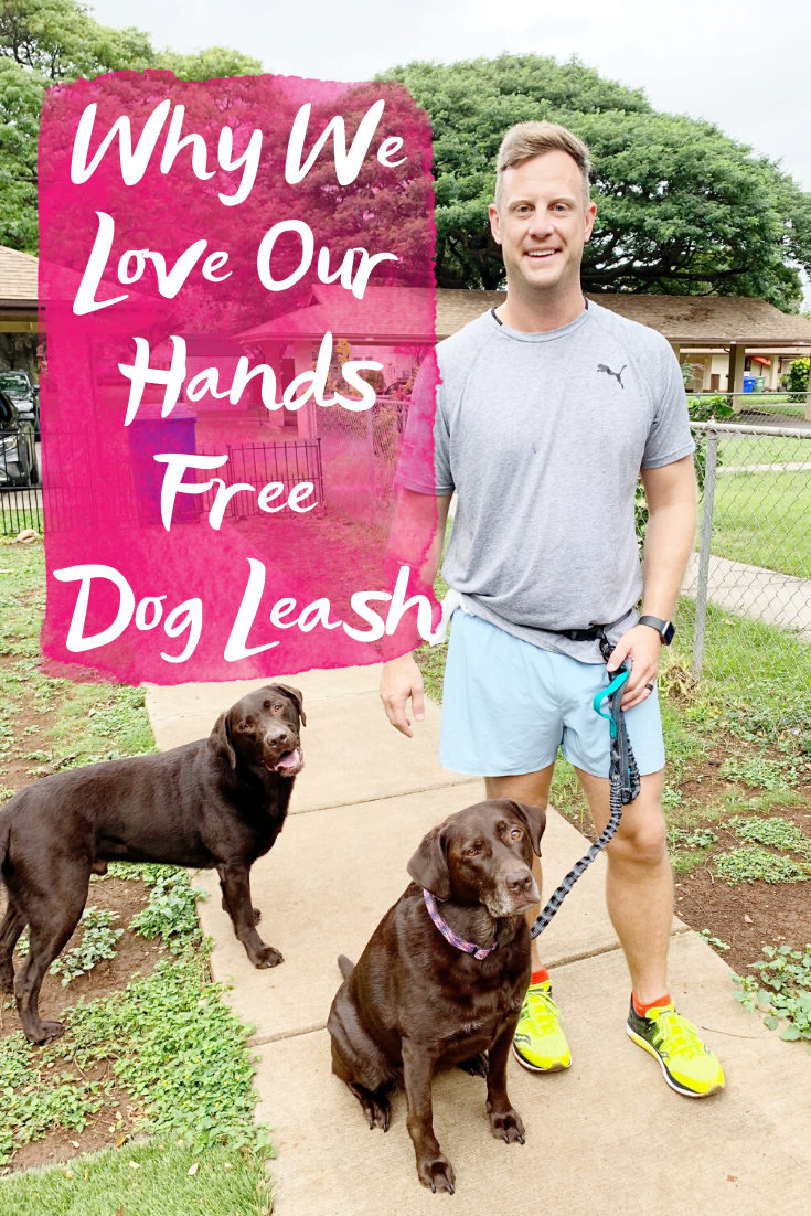 WHY WE LOVE OUR HANDS FREE DOG LEASH - Sharing all the details on the best hands free leash we've ever purchasing for running with our dogs! | Hands Free Dog Leash - Dog Leash For Running Hands Free - Best Hands Free Leash - Running Dog Leash - Dog Running Leash - Best Dog Leash For Running