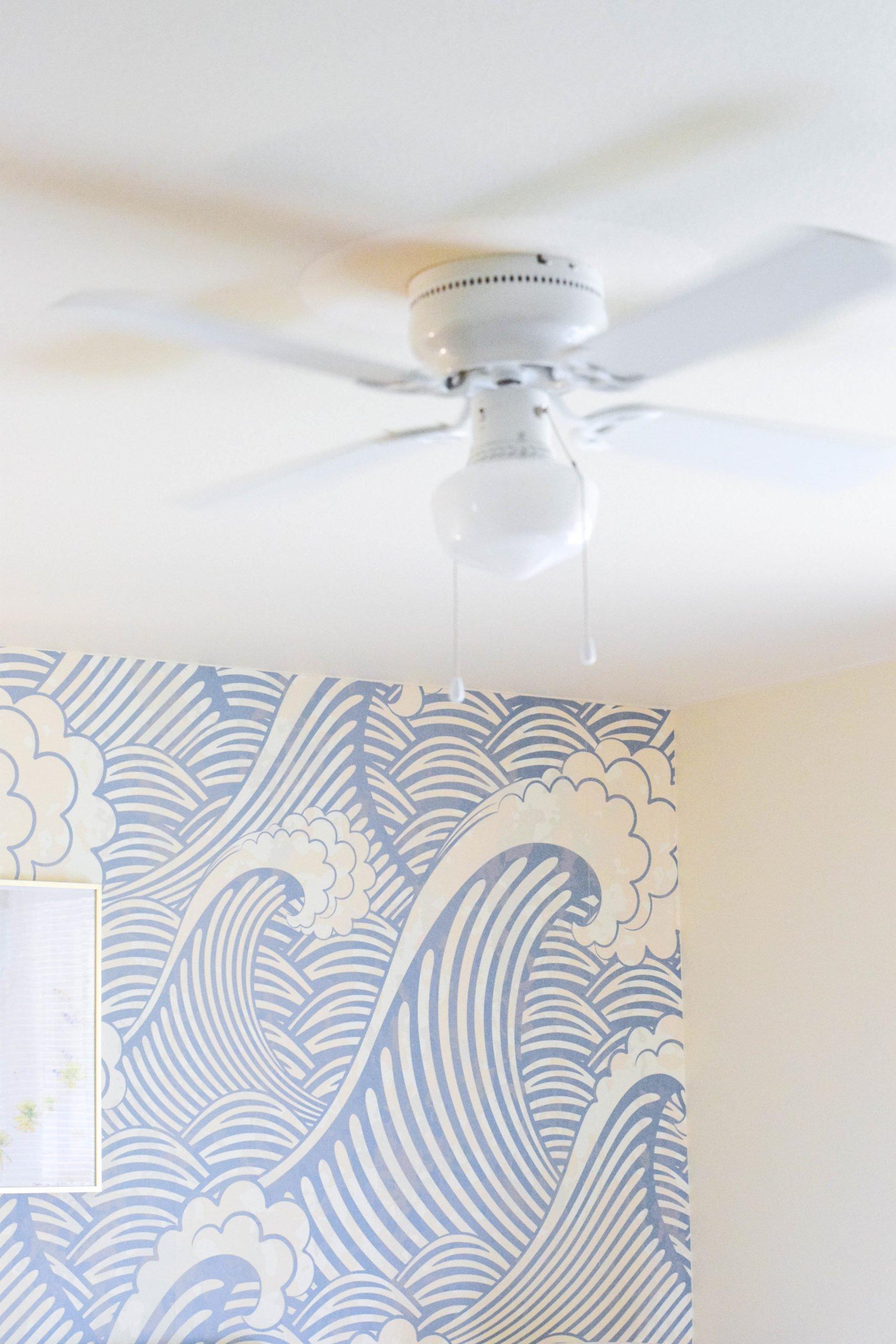 All White Ceiling Fan