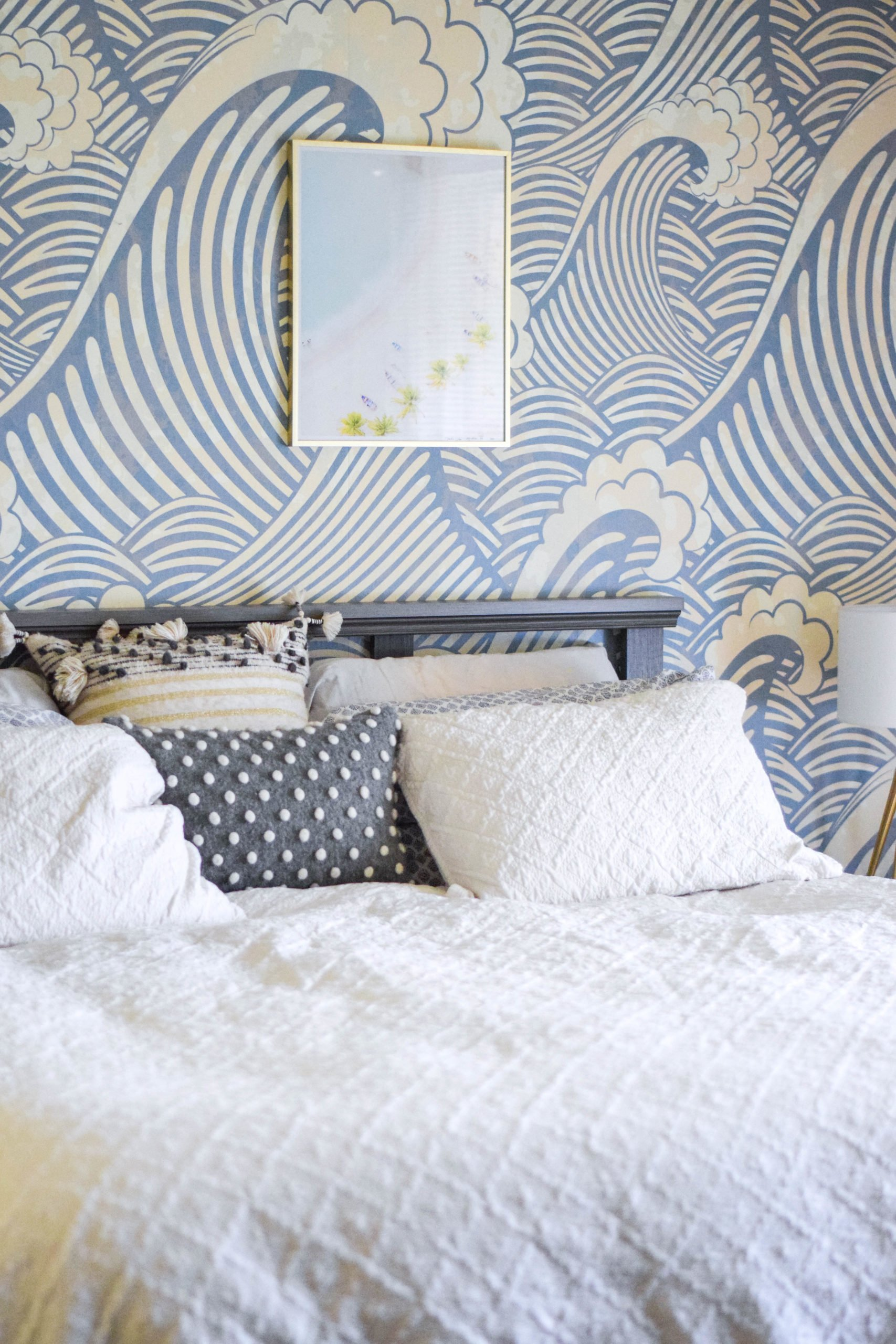 Blue Grey Bedroom