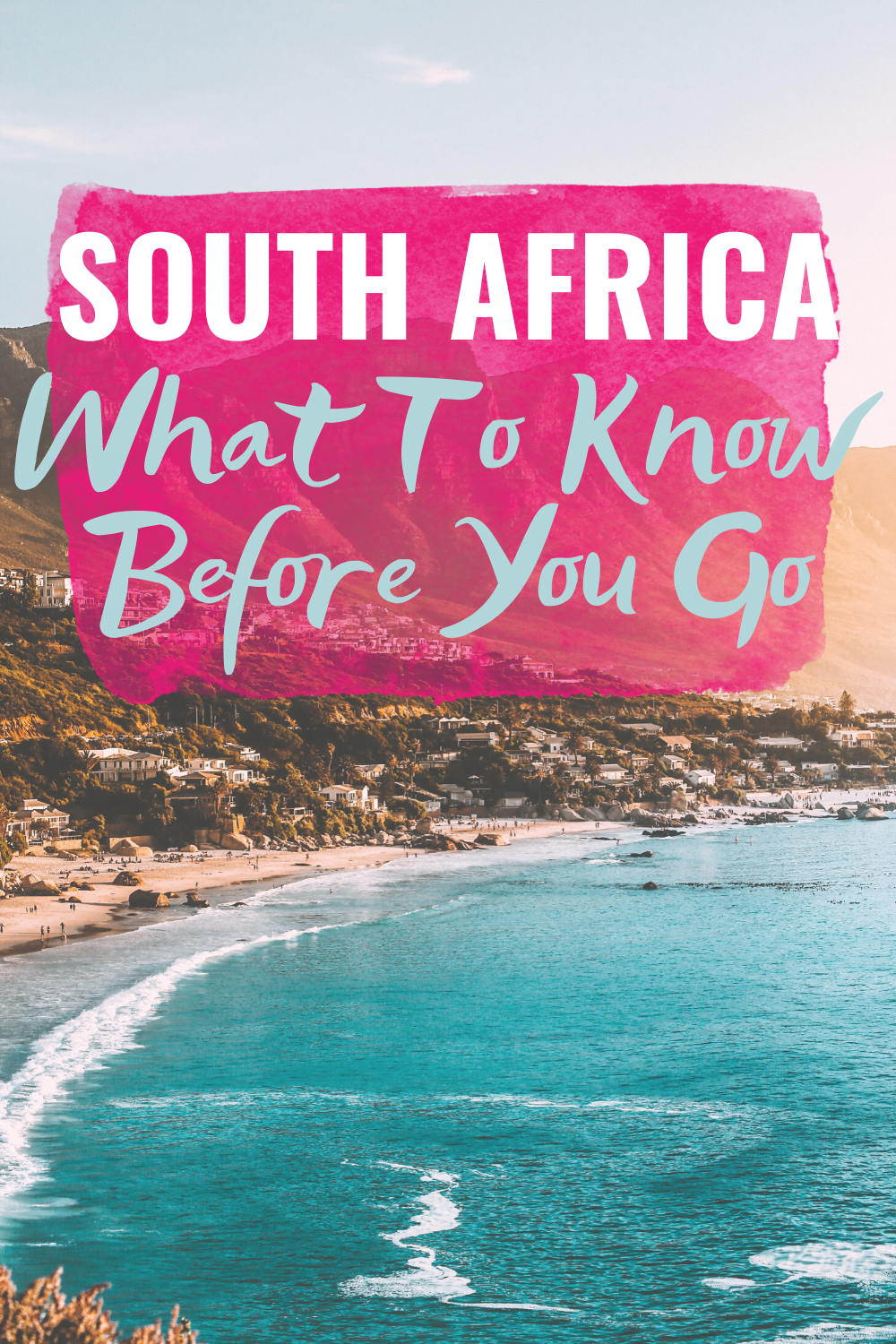 South Africa Travel: Things To Know Before You Go - Before leaving for South Africa, here are some travel tips to know before you go, including what you might want to bring with you, mentally prepare yourself for + more! | South Africa Travel - Travel Tips for South Africa - Traveling to south Africa for Americans - Africa Travel Tips