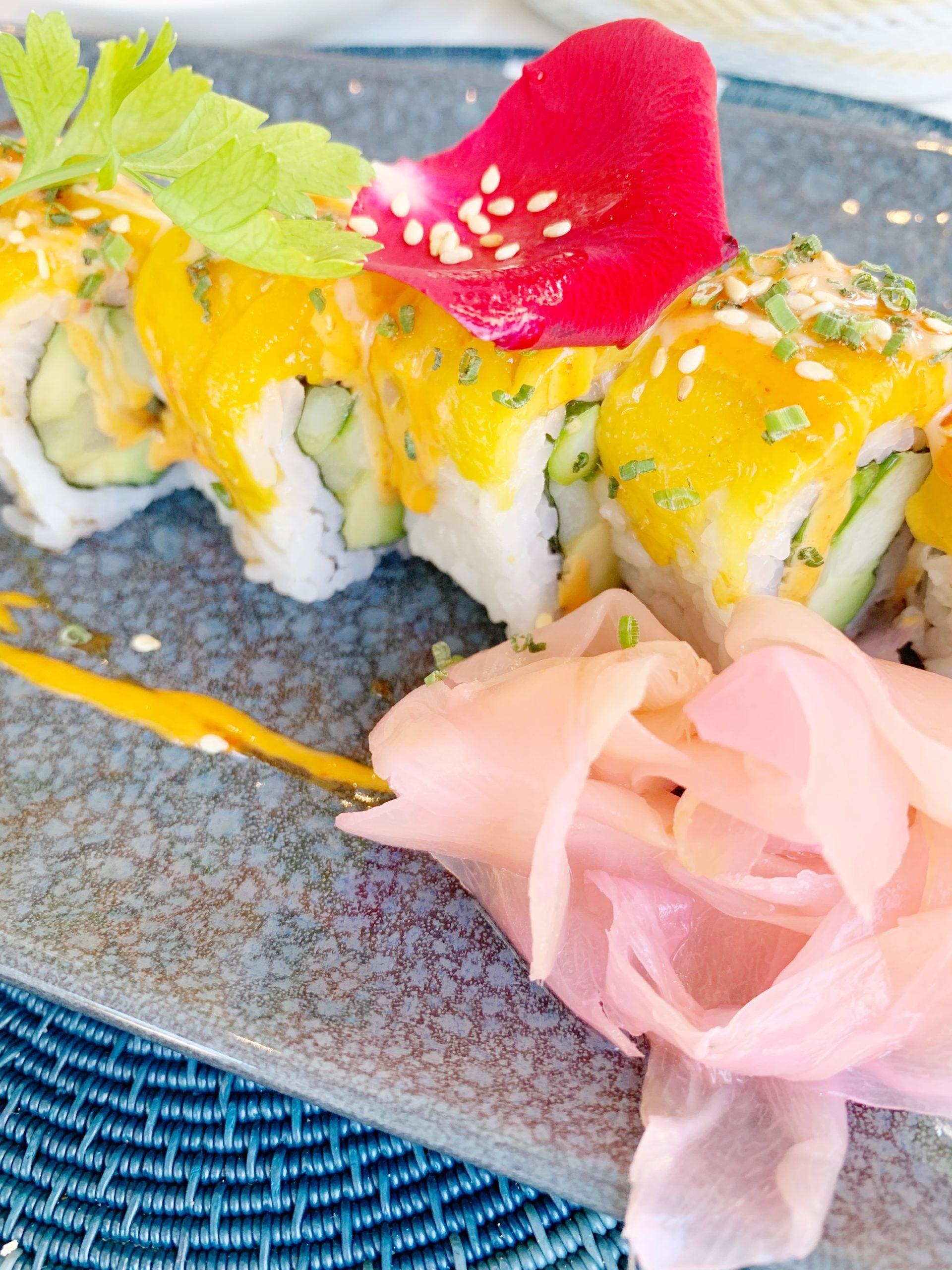 Cafe Grill - Vegetarian Sushi