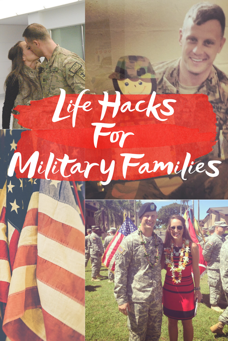 Life Hacks For Military Families - Sharing 8 life hacks for military families and spouses - everything from selling a house to military discounts! | Military Tips for Spouses - Military Family - Military Spouse Tips - Military Discounts - Military travel - Military Life Tips
