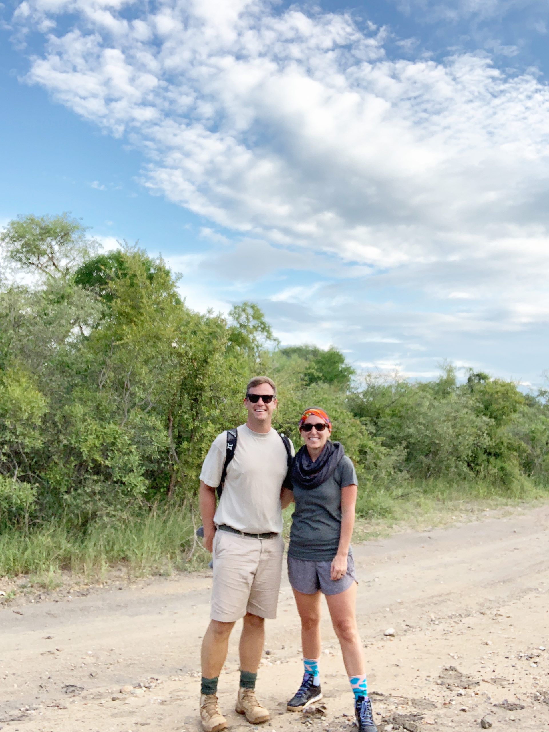 Couple Hiking In South Africa