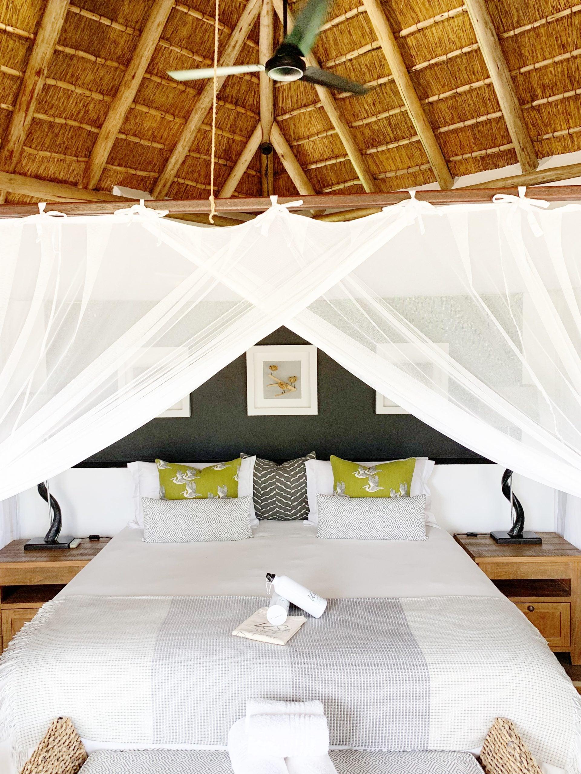 Safari camp bed