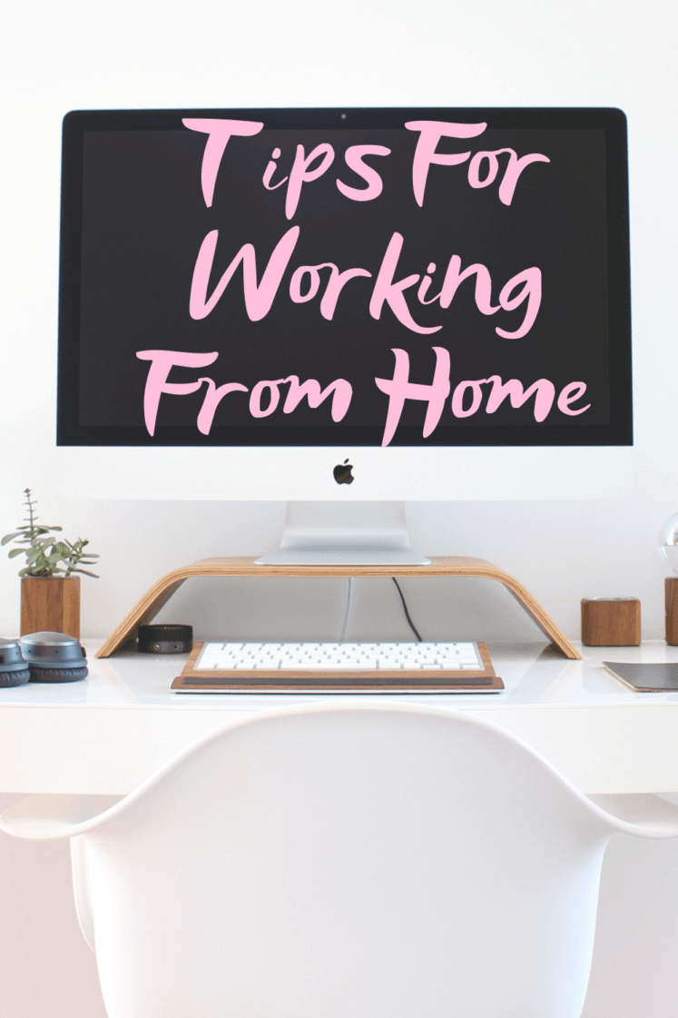 Work From Home Tips + How To Be Productive - Detailing what my schedule looks like working from home + tips for being successful. | Working from home - Tips For Working From Home - How to be productive at home