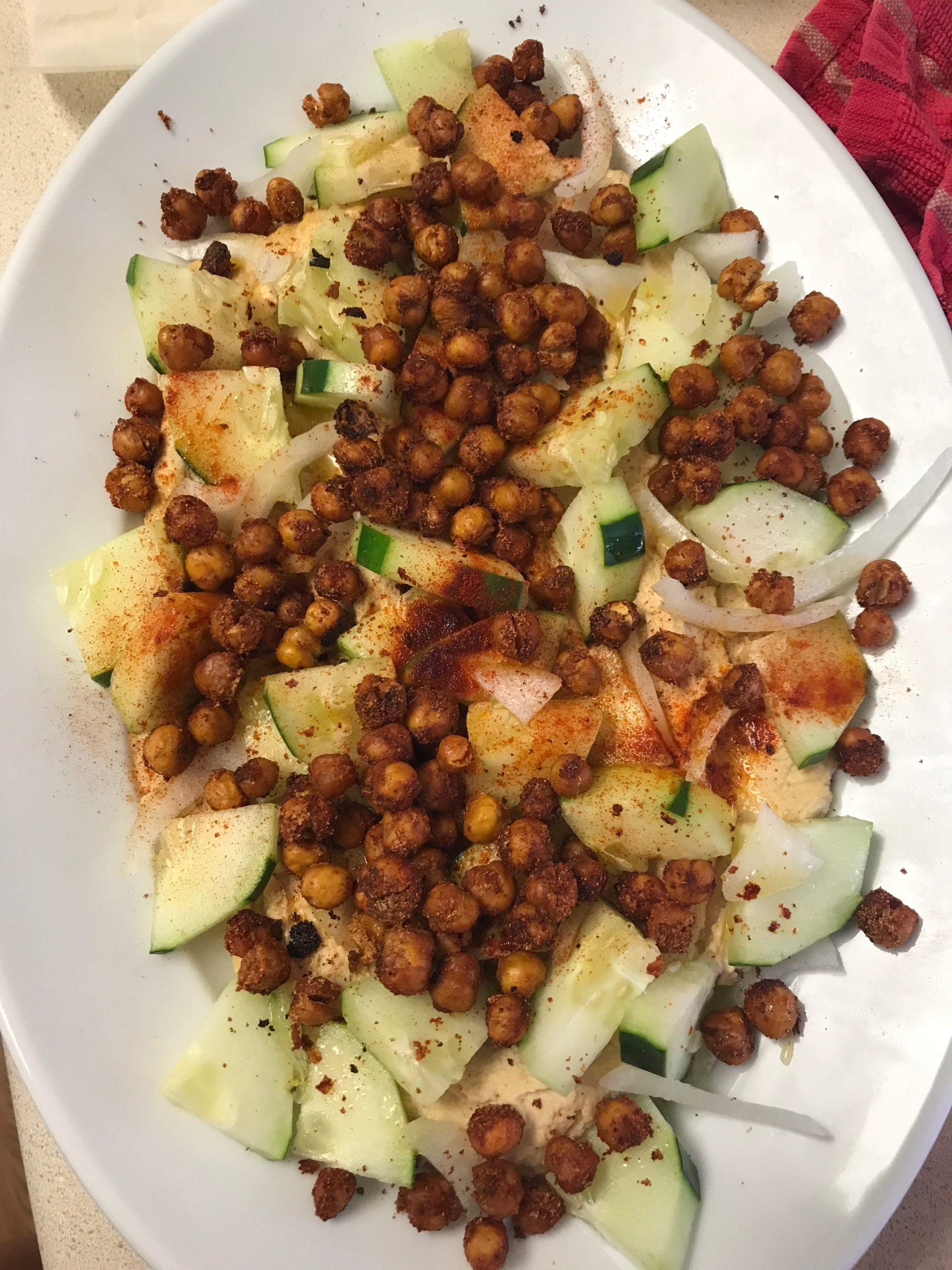 Loaded Chickpea Hummus