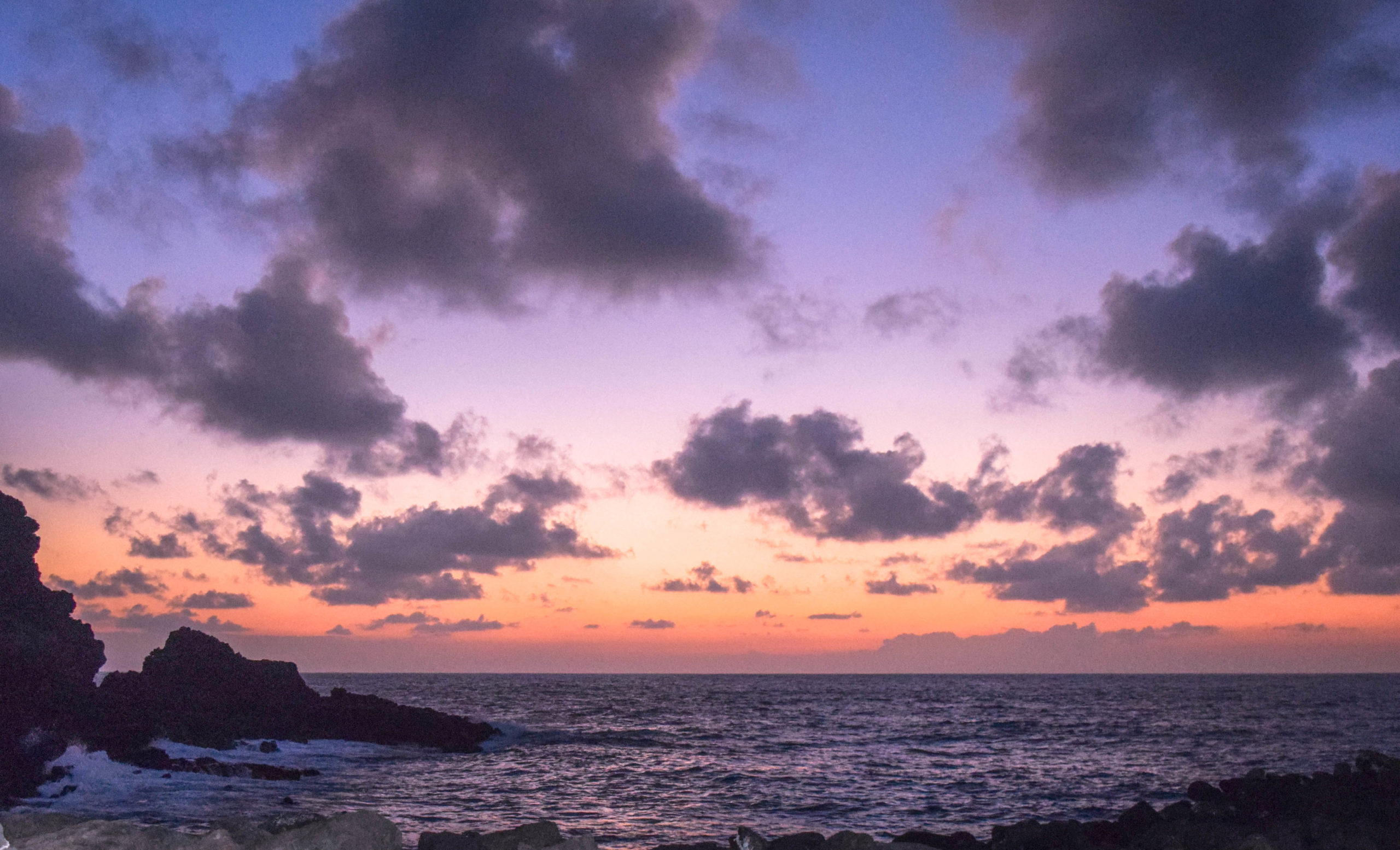 Makapuu Hawaii Sunset