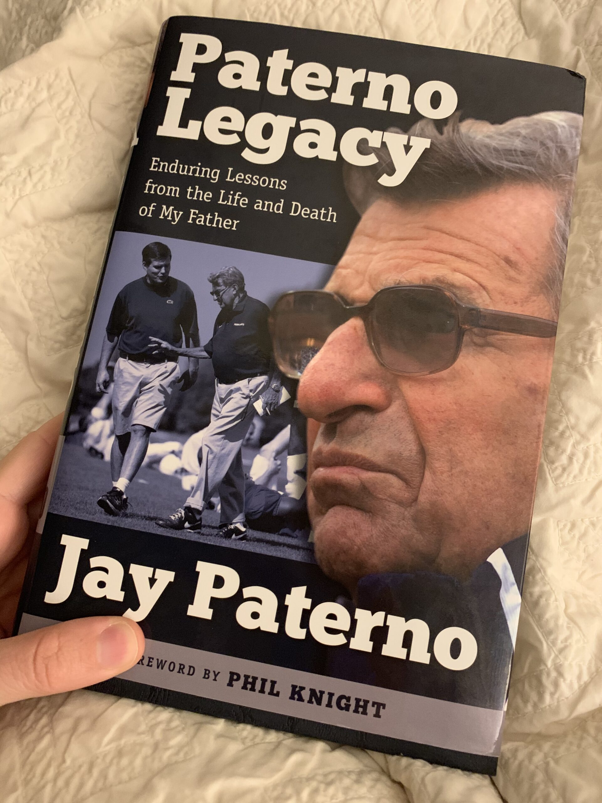 Paterno Legacy book
