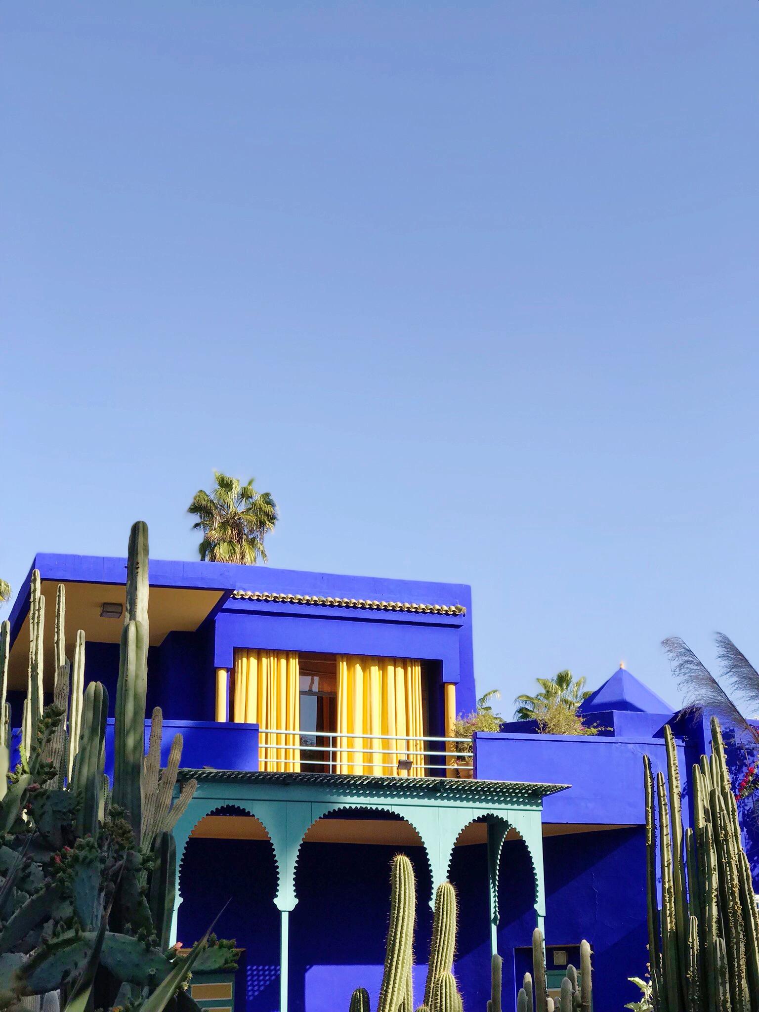 Majorelle Blue - Jardin Majorelle