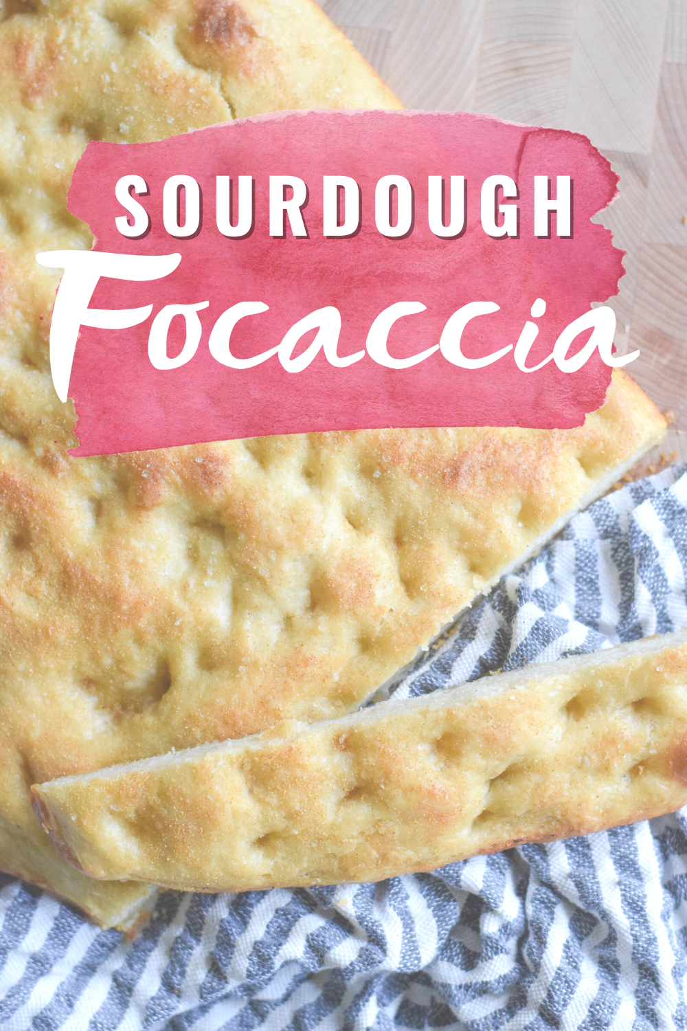 Sourdough Focaccia - Looking for a delicious and easy sourdough focaccia recipe? This recipe from BAKED Blog has you covered! | Sourdough Focaccia Recipe - Sourdough Focaccia Bread Recipe - Sourdough Starter Bread Recipe - Easy Focaccia Recipe
