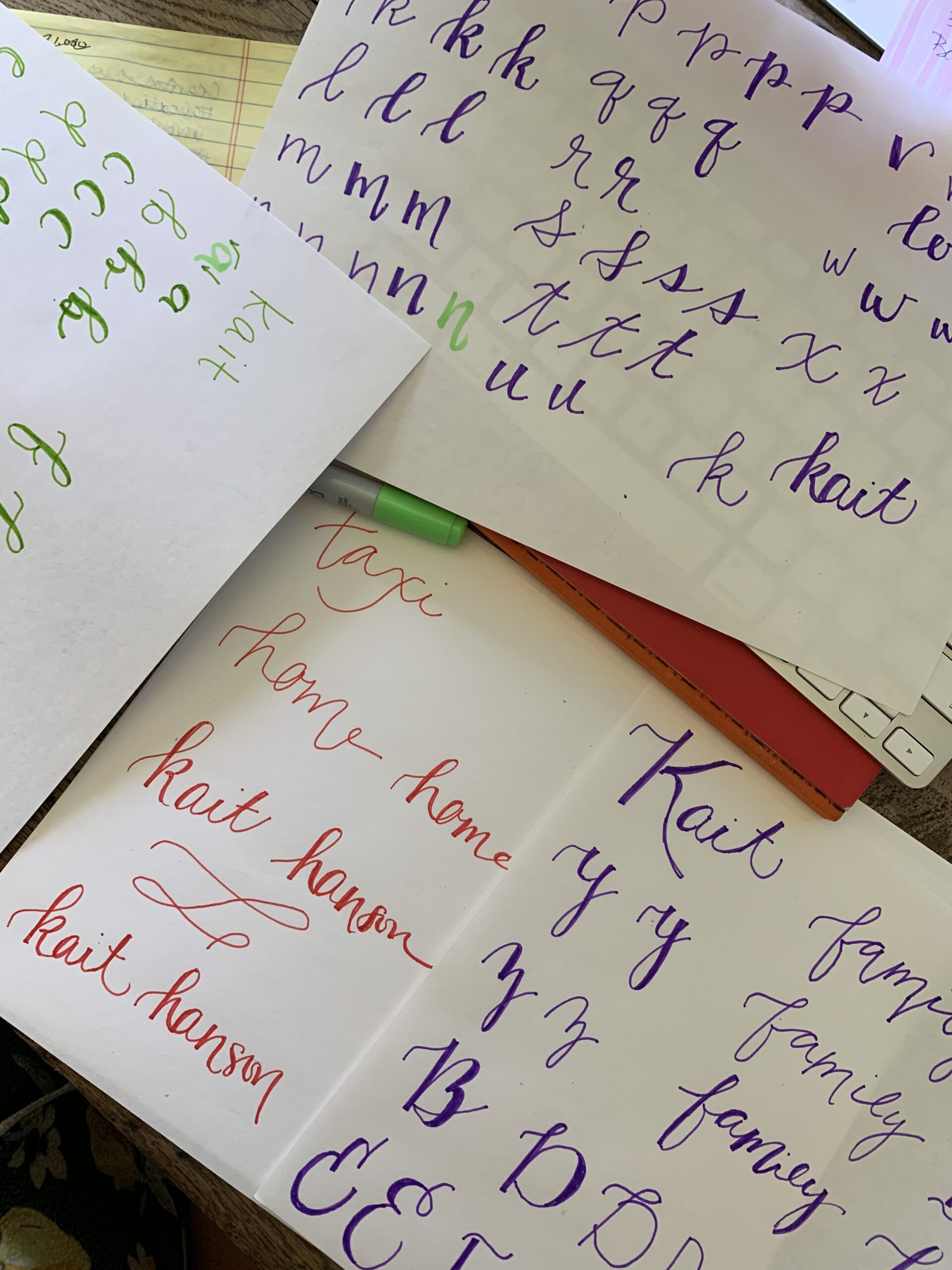 Online calligraphy class