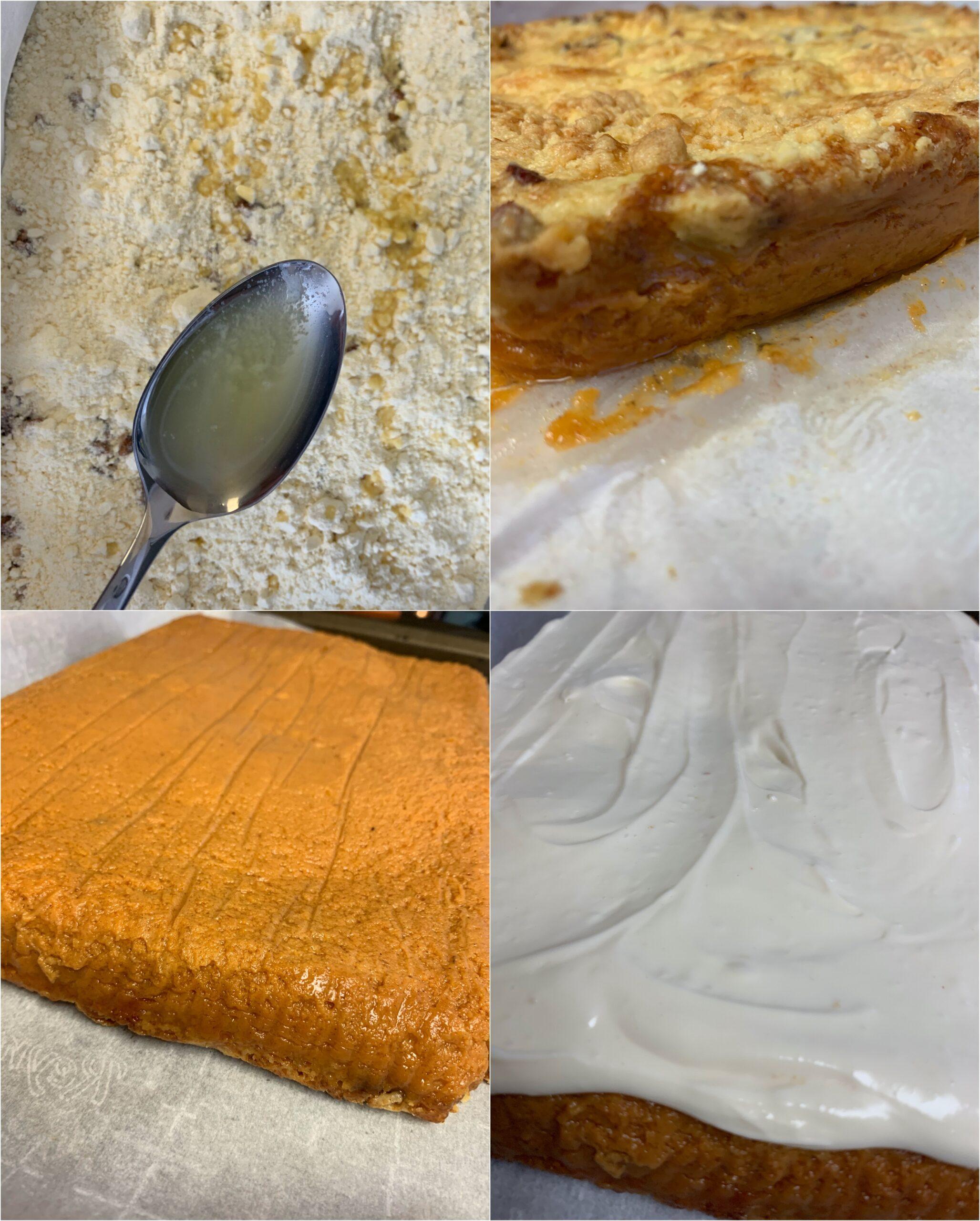 Pumpkin Crunch Step by Step