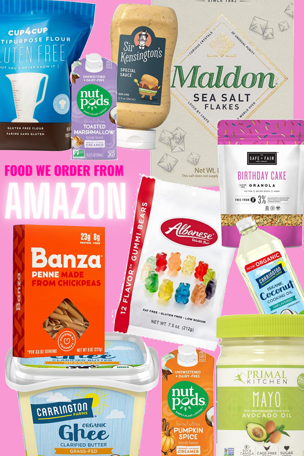 What Amazon Food Items We Order - Sharing a rundown of the best Amazon food pantry items to order for at-your-door delivery! | Amazon Pantry - Amazon Food - Amazon Prime Whole Foods