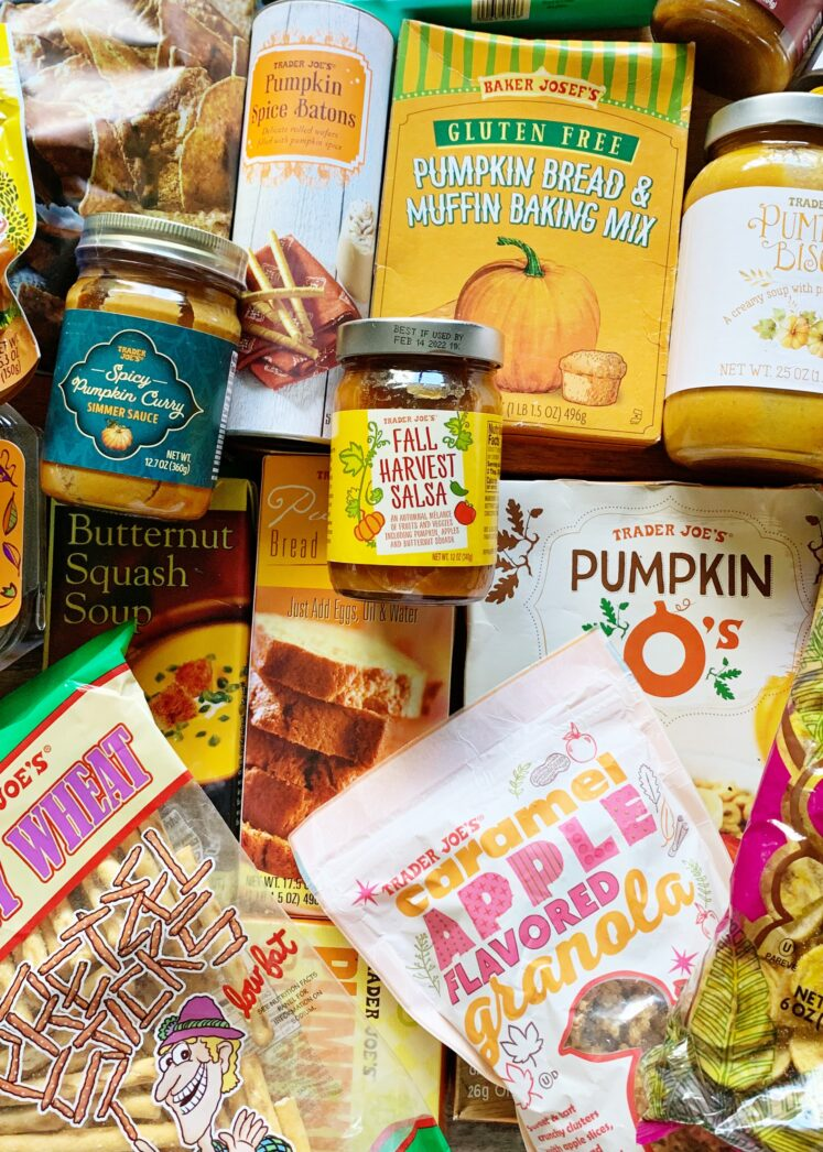 Trader Joe's Fall Food Haul