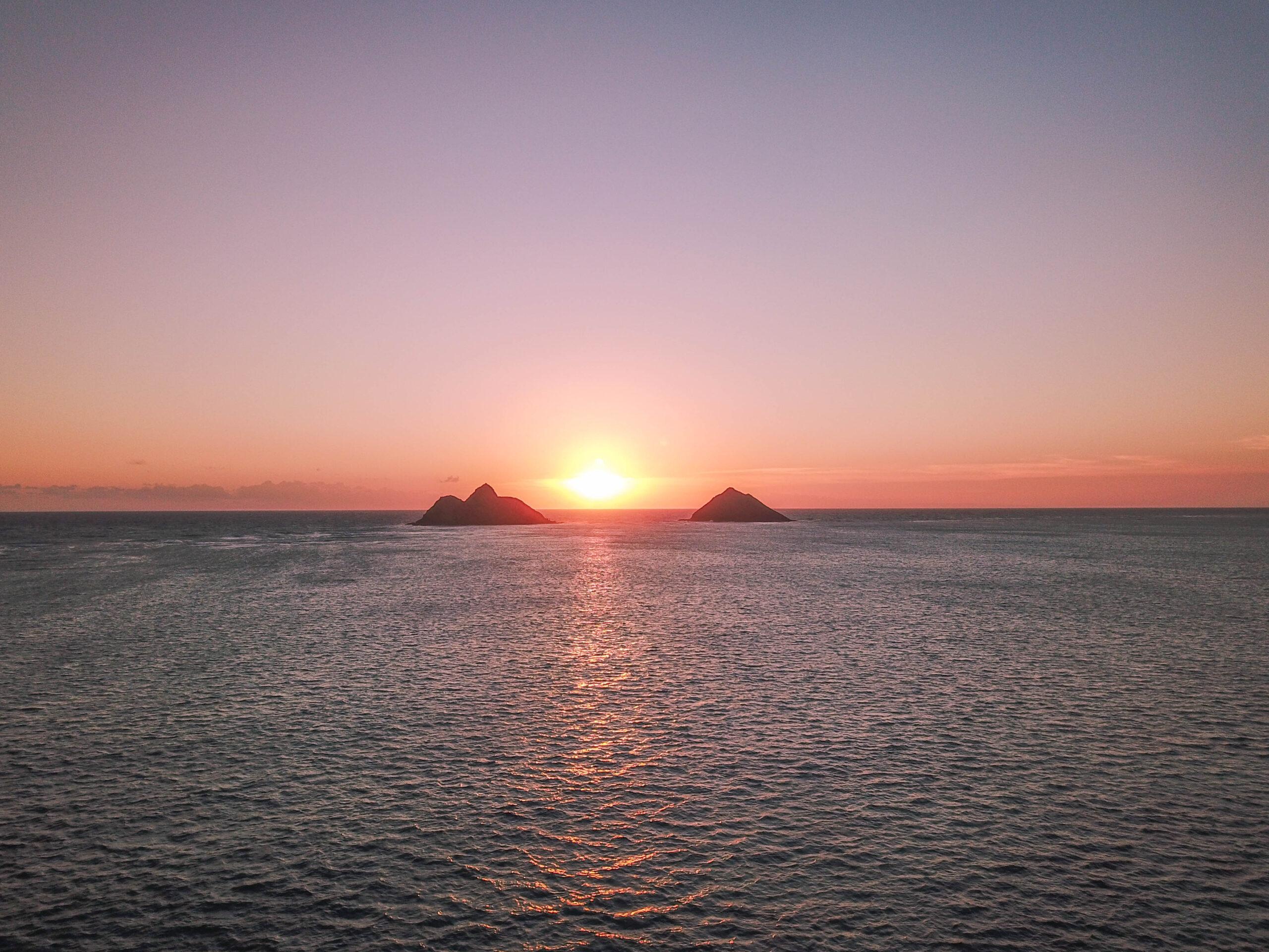 Mokulua Islands - Lanikai Beach, Oahu Hawaii