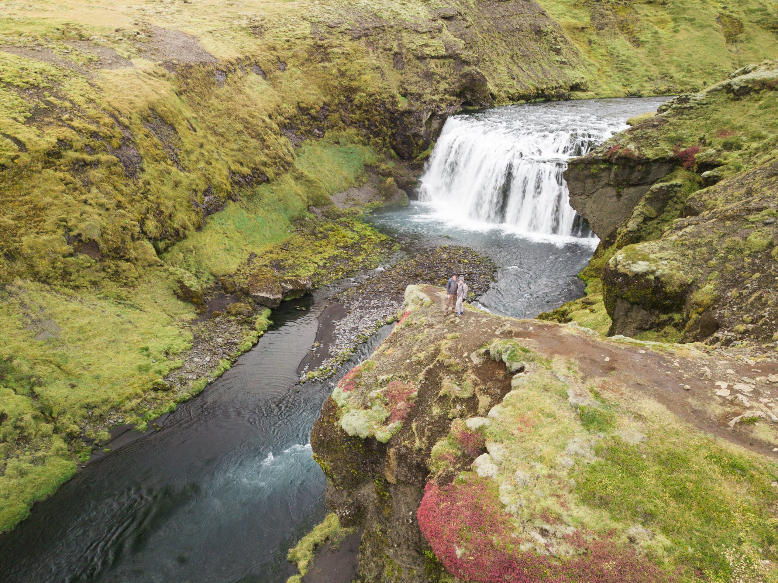 Iceland Travel - Waterfall