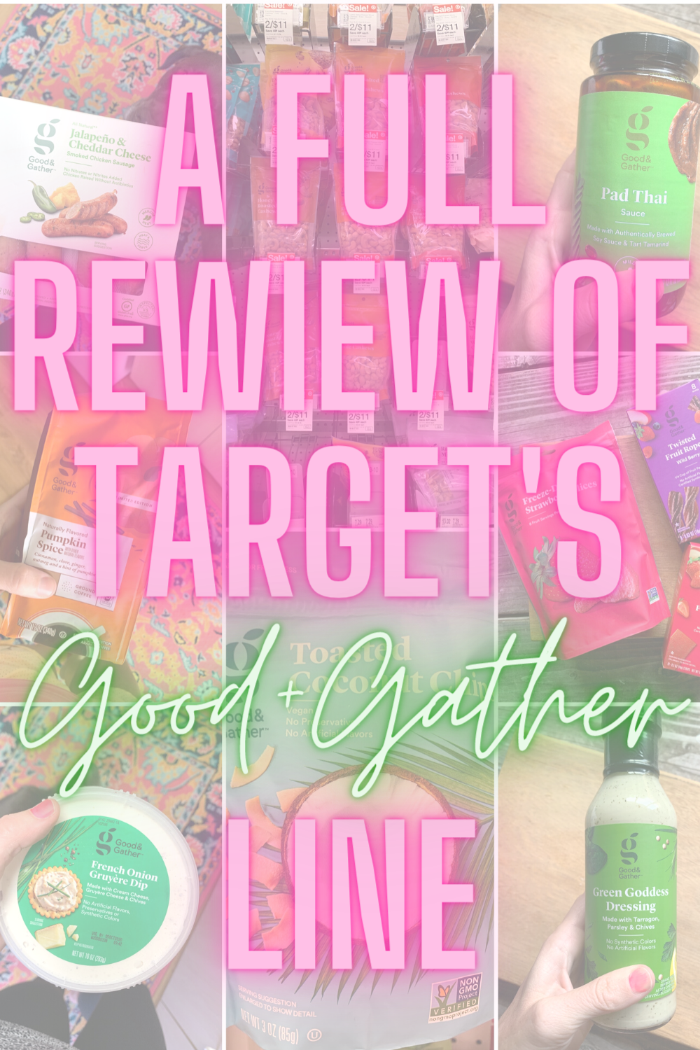 Target's Good And Gather Brand: A Full Review - Curious about Good & Gather from Target? Today I'm sharing a full review of products! | good & gather target - target good and gather - good & gather