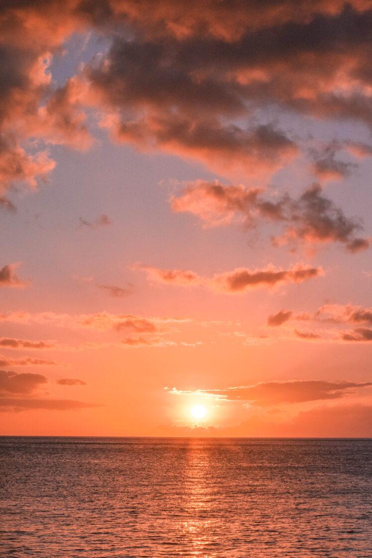 Oahu Sunset: Electric Beach