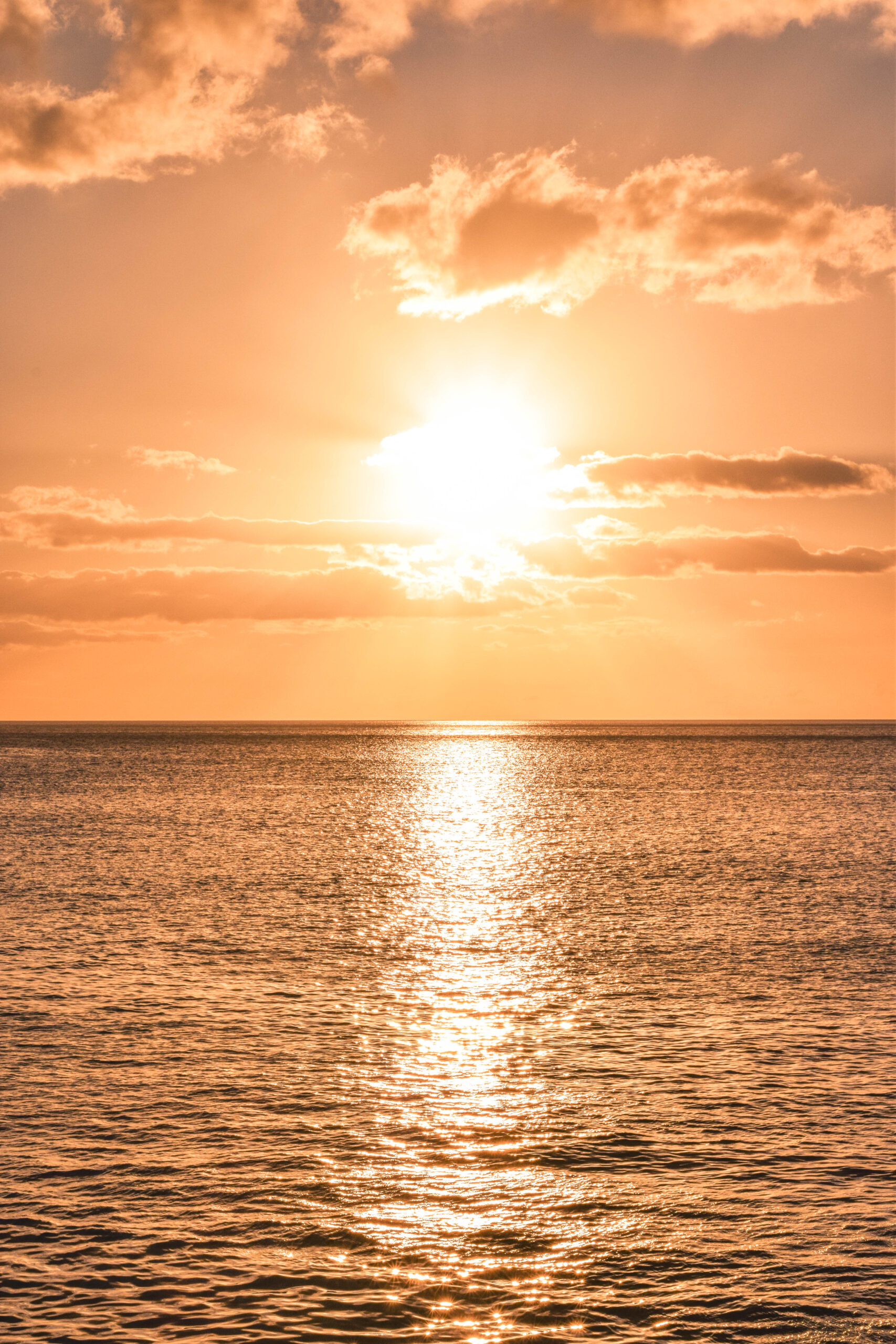 Hawaii Sunset at Electric Beach