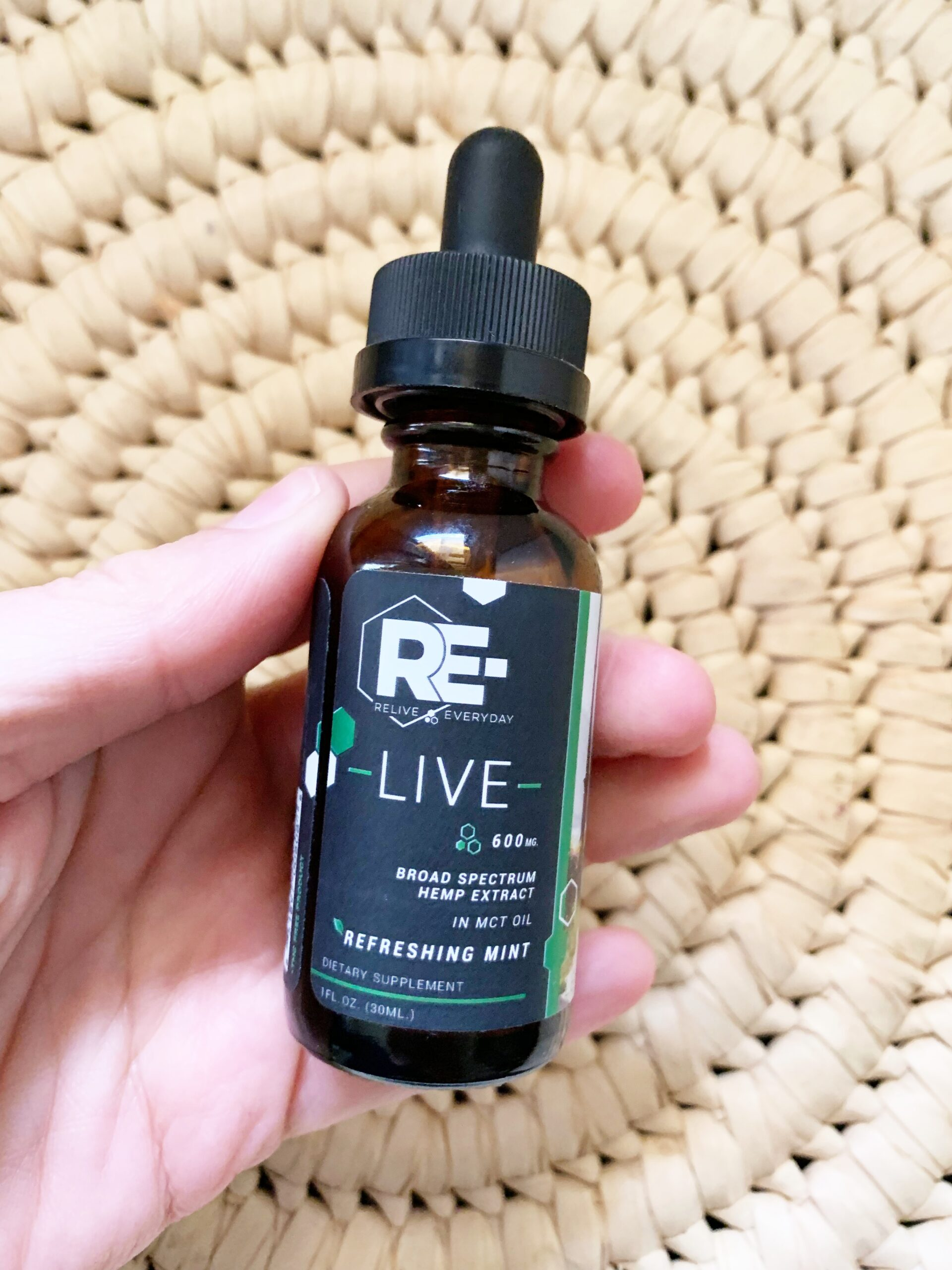 Relive Everyday CBD Oil Tinctures
