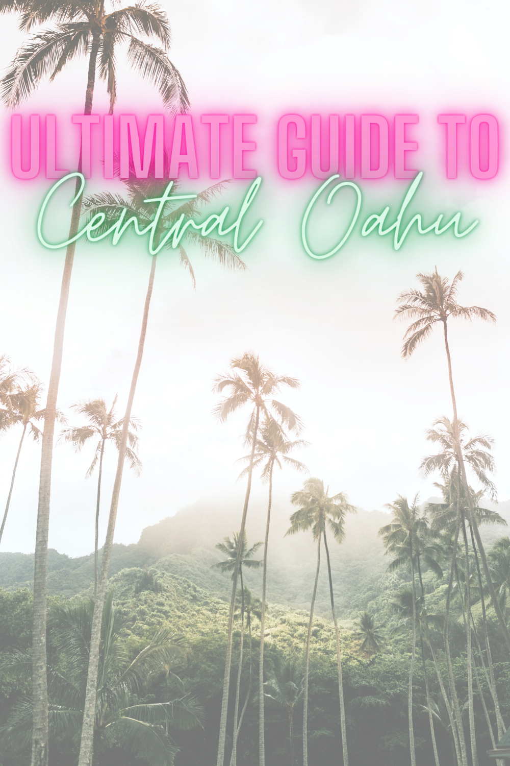 Ultimate Guide To Central Oahu - Looking for the best places to eat, shop, and live in central Oahu? Today's helpful post is sharing all of that + more! | Oahu Travel Guide - Wahiawa - Mililani - Pearl City