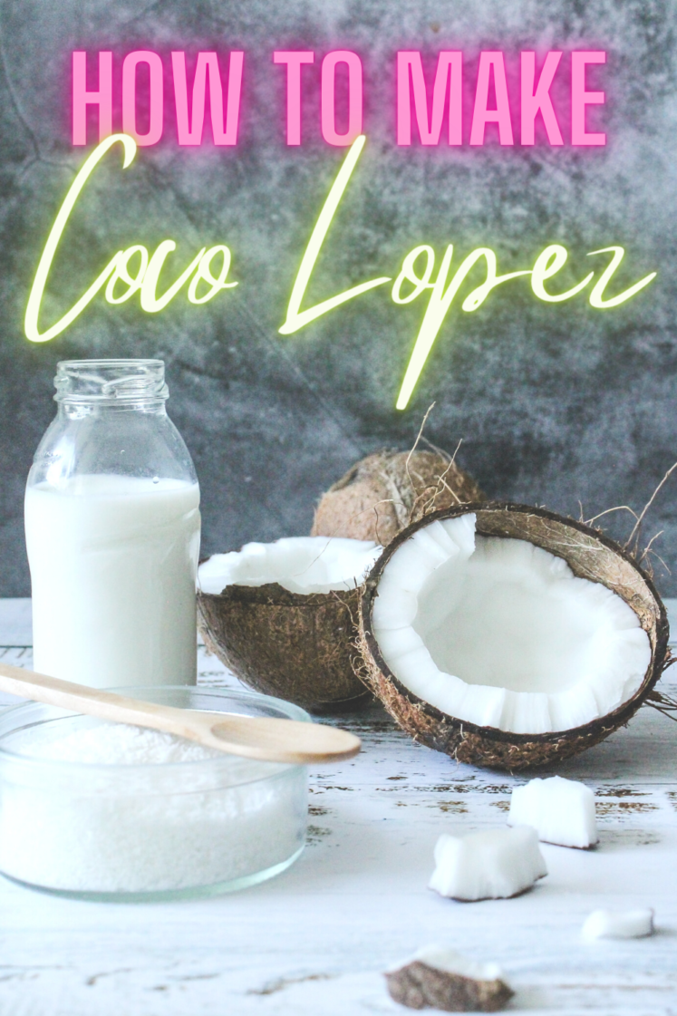 How To Make Your Own Coco Lopez Cream of Coconut
