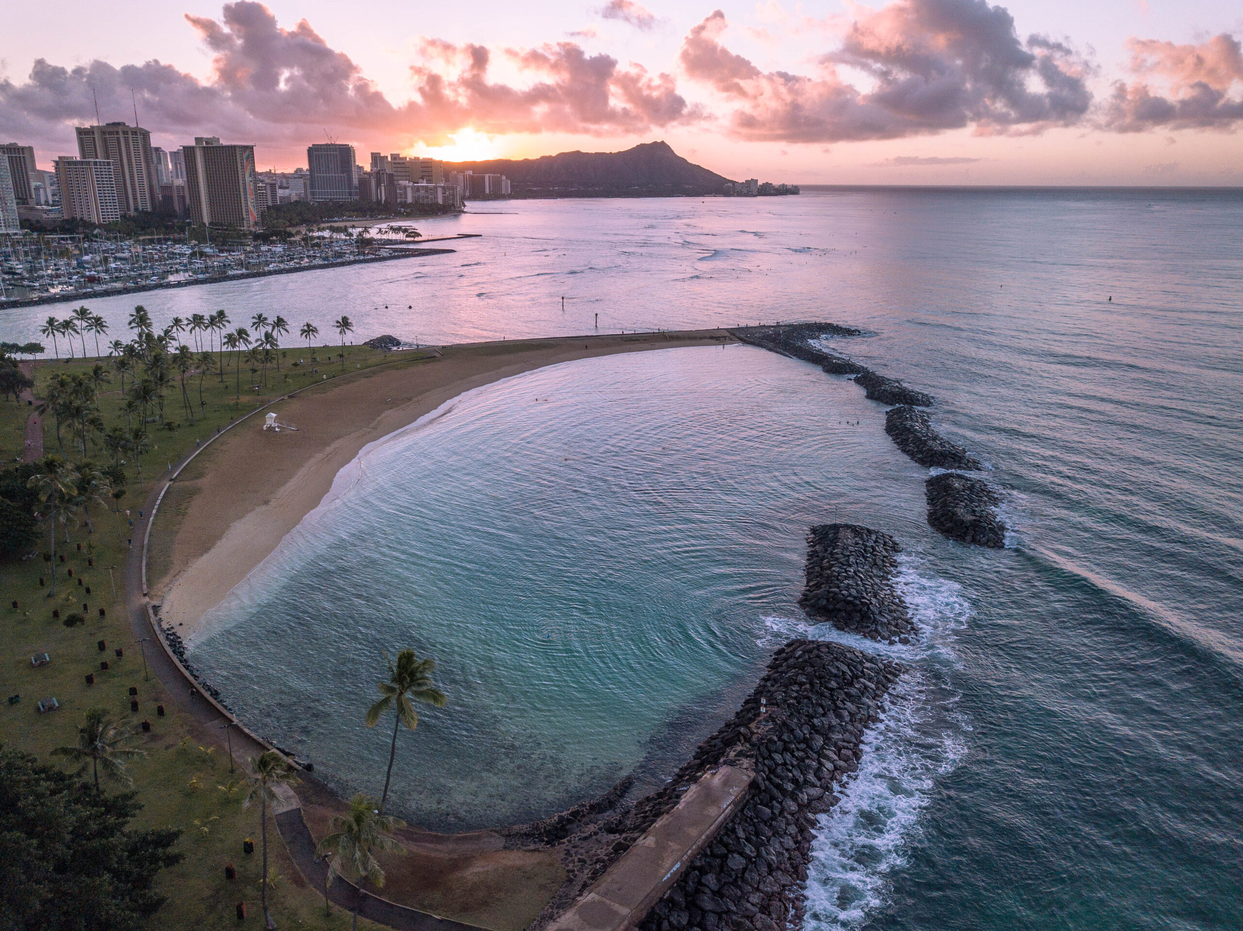 Honolulu Sunrise - Oahu, Hawaii