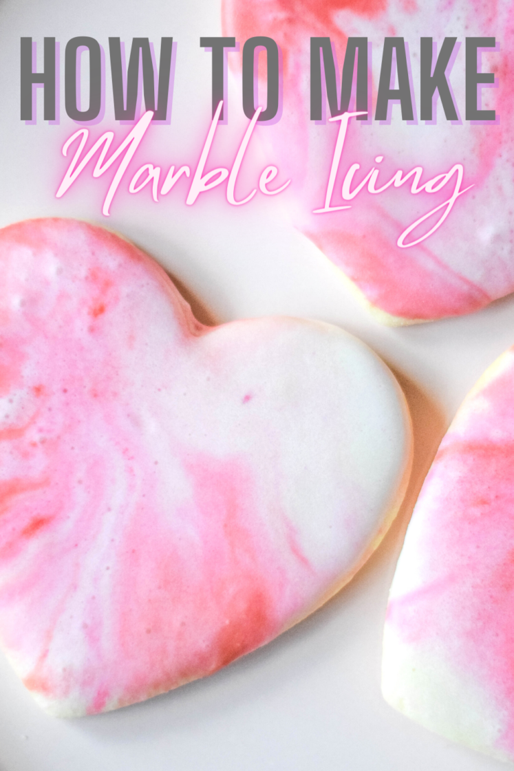 Sugar Cookies With Marble Icing – An Easy Baking Recipe For Kids