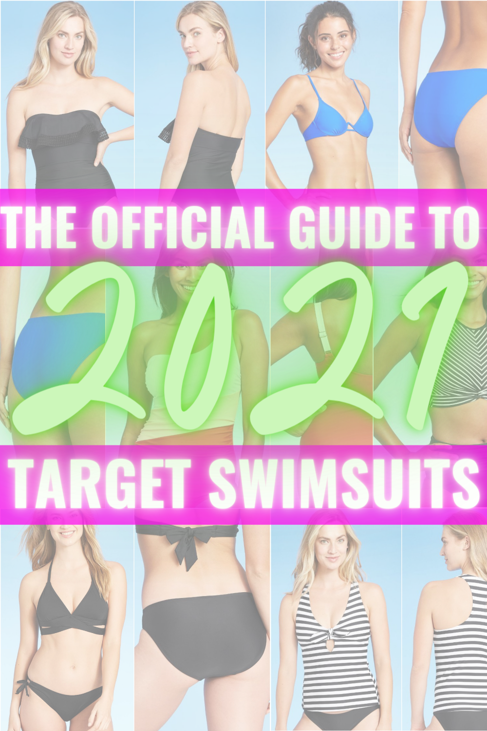 THE OFFICIAL GUIDE TO TARGET SWIMSUITS 2021 - A complete fit and style guide for Target's 2018 swimwear line including sizing + links! | Target Women's Swimsuits - Target Bikinis - One Piece Swimsuit Target - Target Swimsuits 2021
