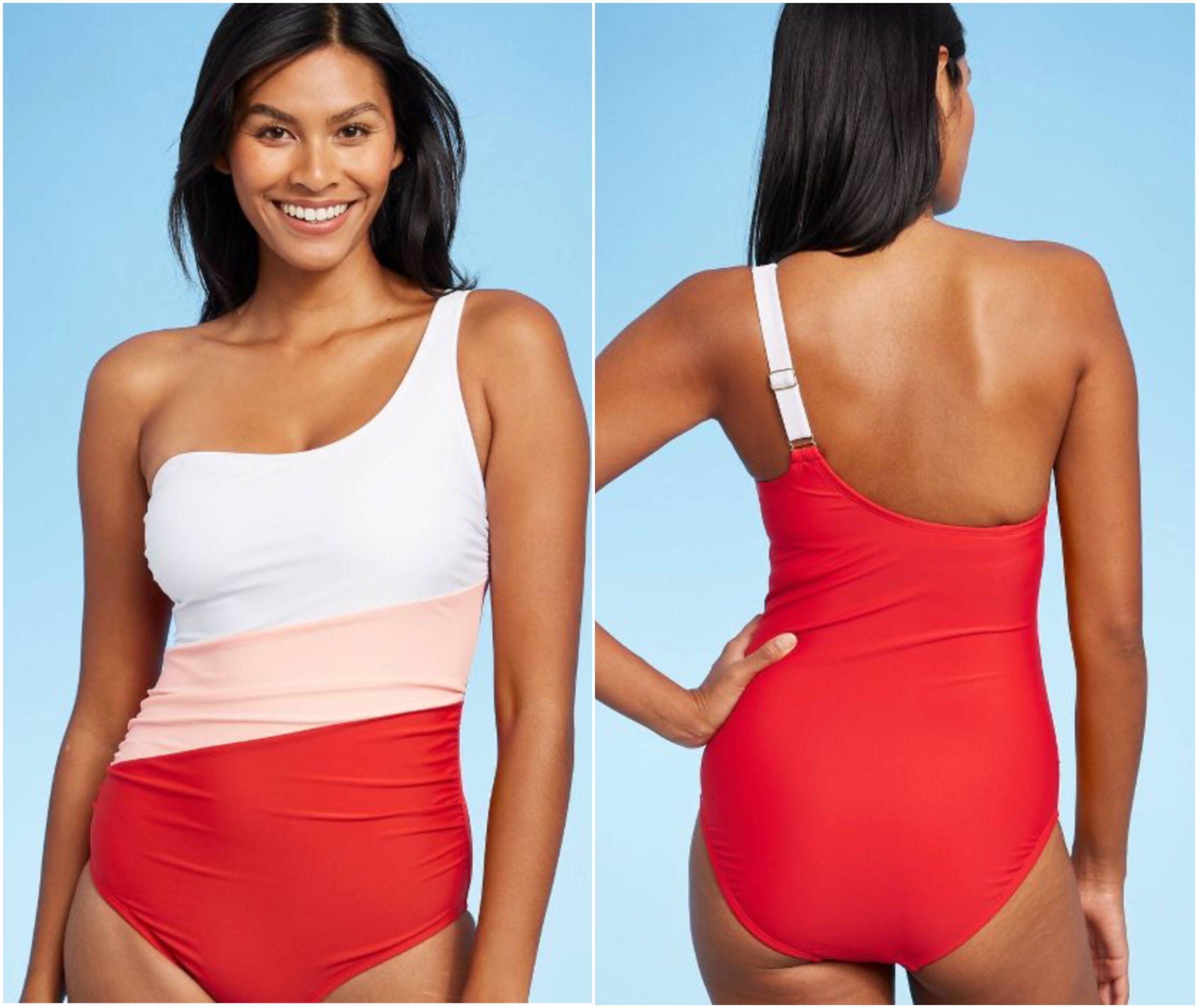 Target Colorblock One Piece Swimsuit