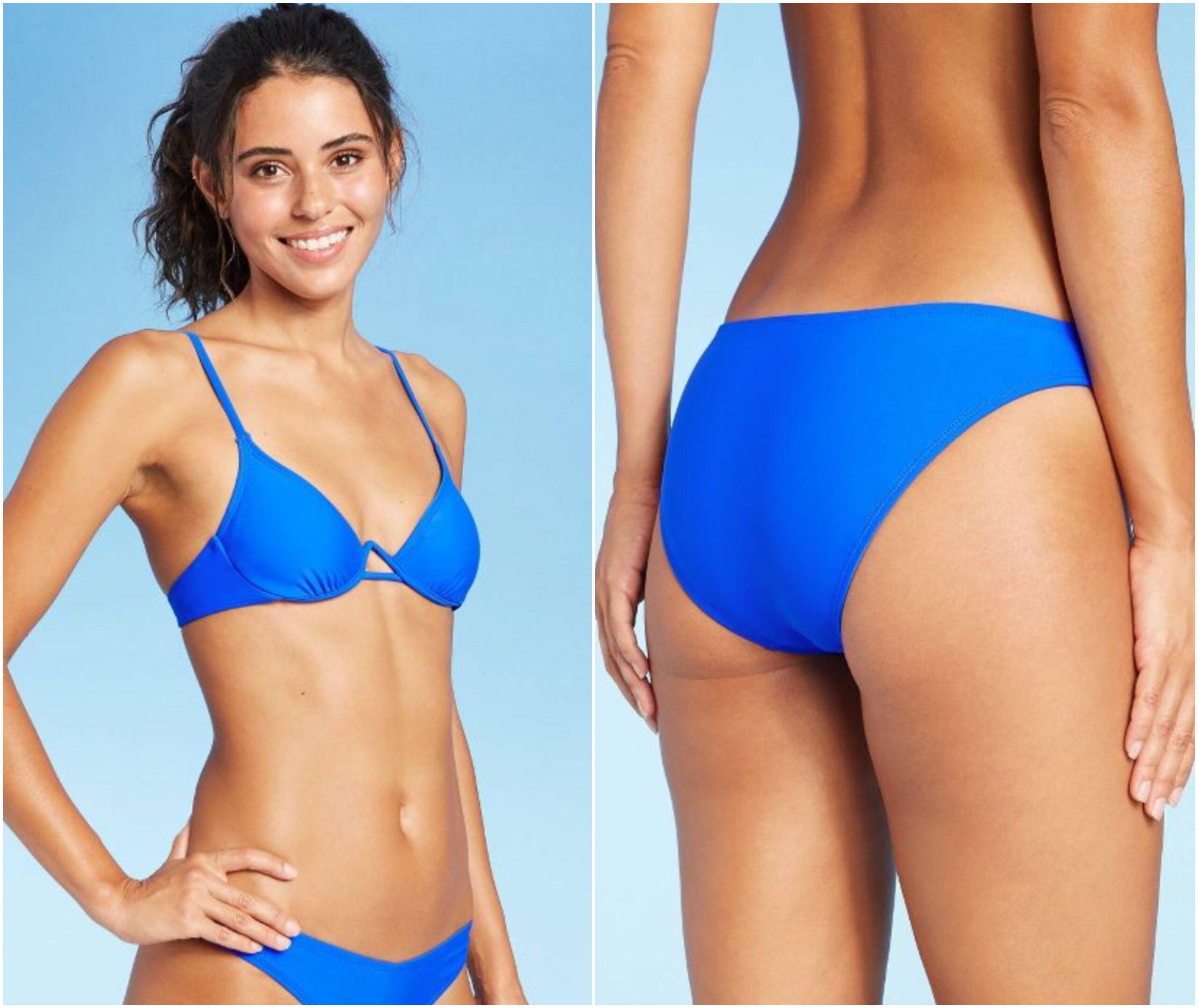 Target Underwire Bikini Top - Target High Rise Bikini Bottom