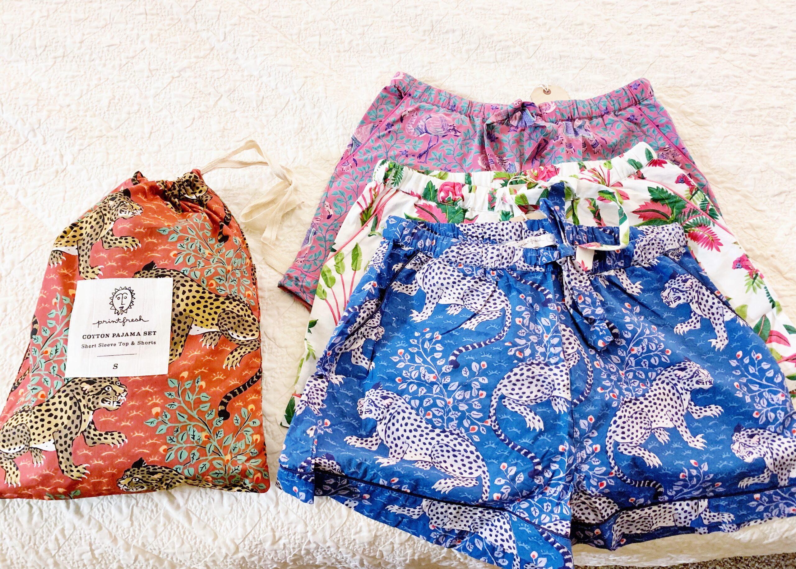 Printfresh pajama sets