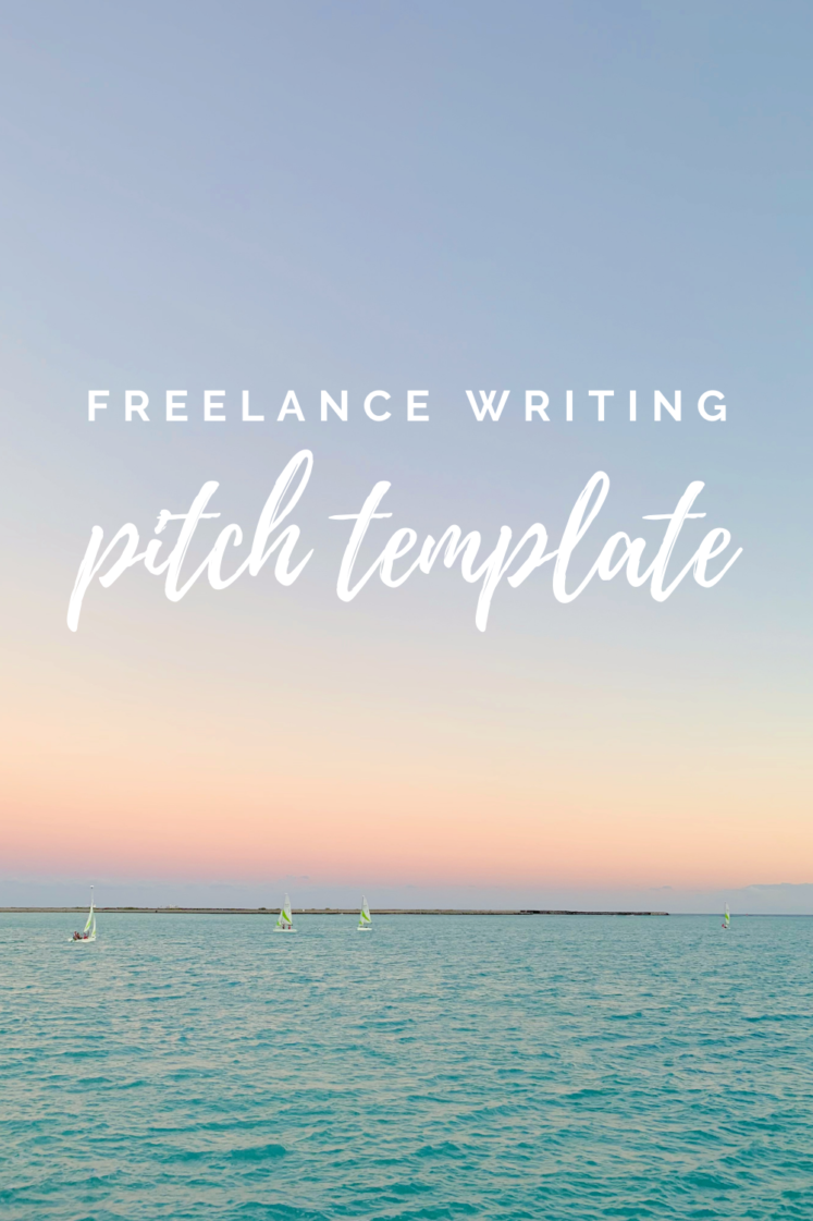 Freelance Writing Pitch Example