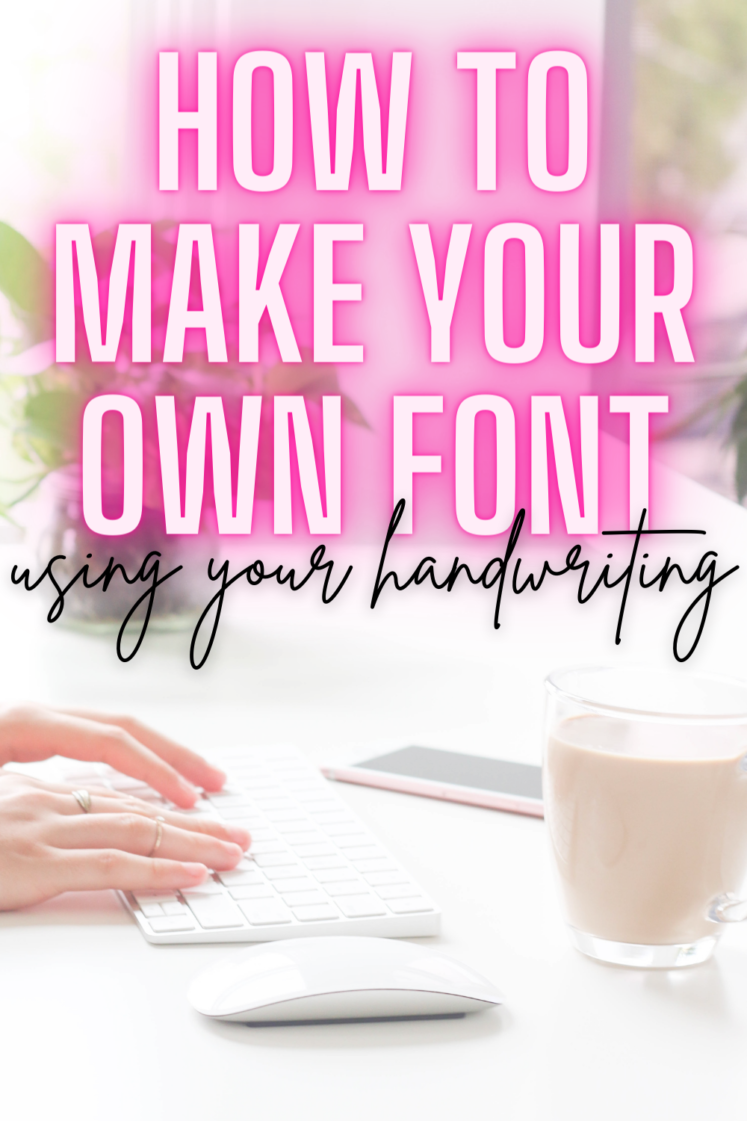How To Turn Your Handwriting Into A Computer Font - Sharing all the details on how to many a custom handwriting font on the computer!   How To Make Handwriting Font   Font Maker   Calligraphr