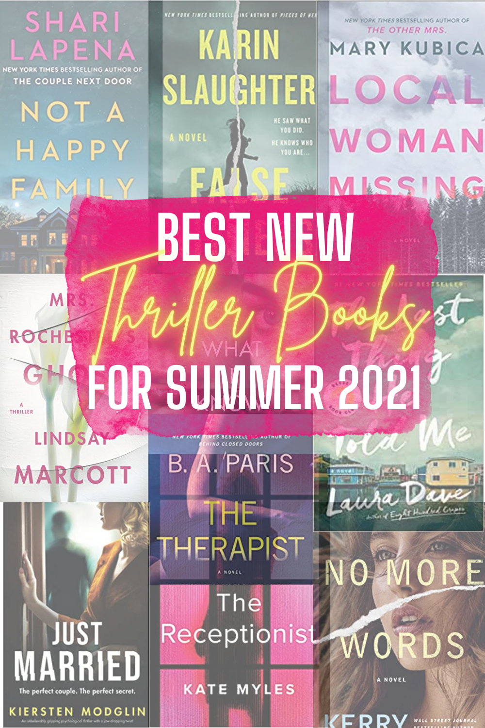 10 New Psychological Thriller Books To Read For Summer 2021