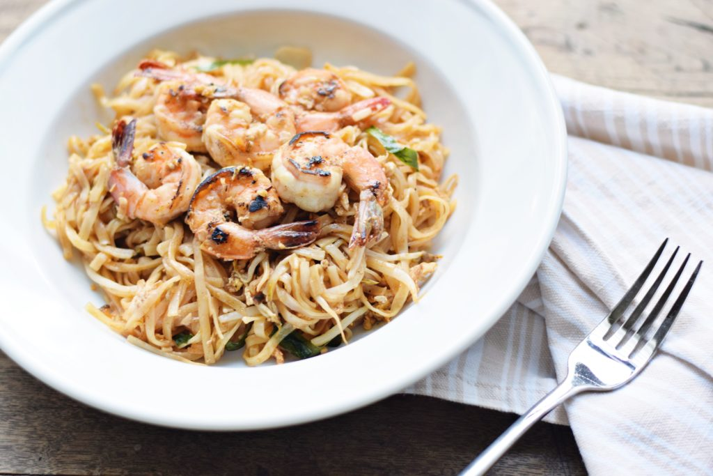 Shrimp Pad Thai - I learned to make delicious Shrimp Pad Thai at Thai cooking school and this easy, authentic recipe has become a favorite!   Shrimp Pad Thai recipe   Authentic Shrimp Pad Thai   What is Pad Thai