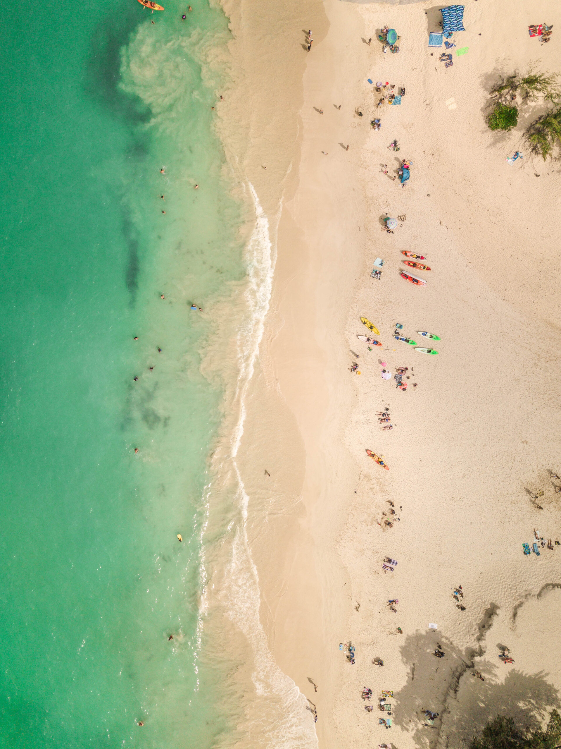 Kailua Beach Park Oahu Hawaii