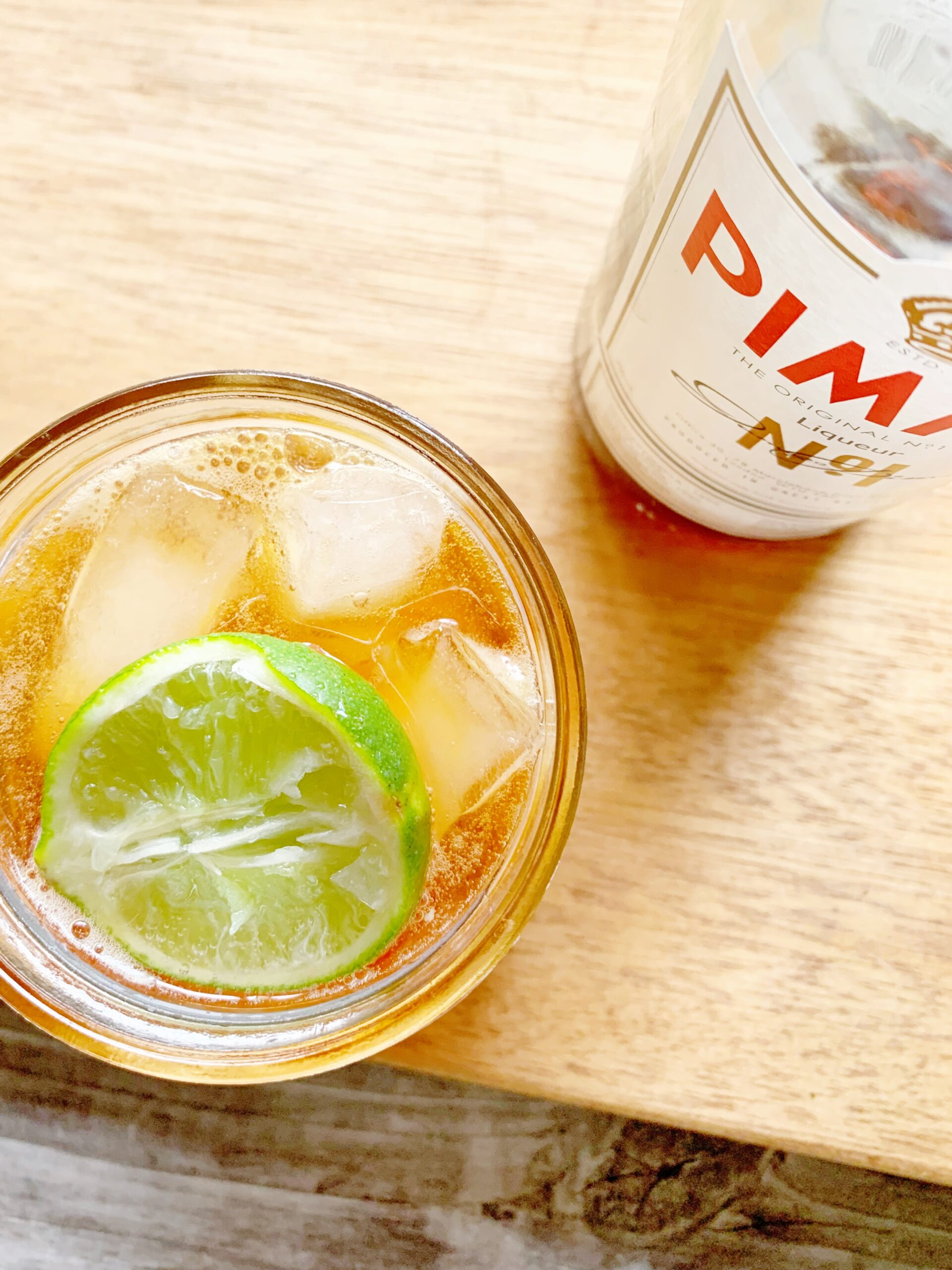 Easy Pimm's Cup recipe