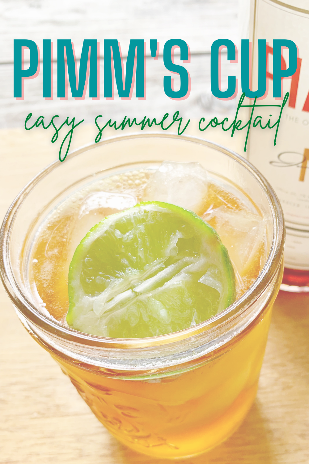 Pimm's Cup Cocktail - Short on time? Try this simple recipe for a Pimm's Cup Cocktail that is equal parts refreshing and strong!   Pimms Cup - Pimm's Cup Recipe - Pimms Cup Recipe - What is Pimm's Cup